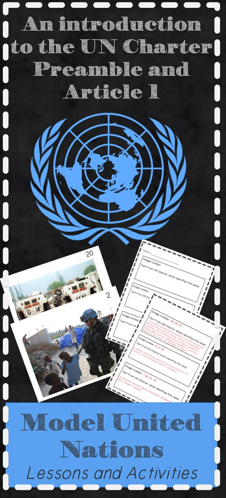 Need an essay topic for Model UN?