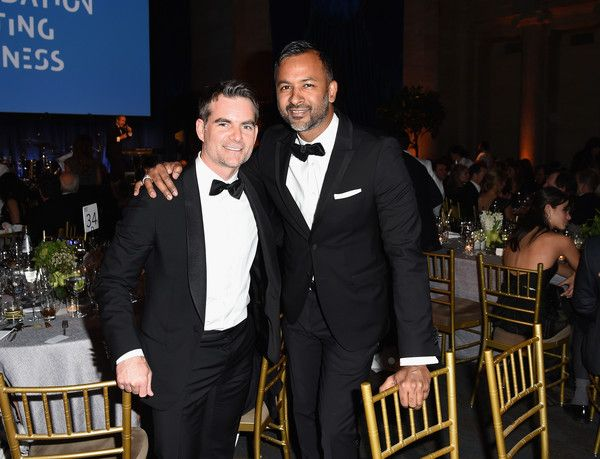 Jeff Gordon Photos Photos - Jeff Gordon (L) and Ronnie Madra attend the Foundation Fighting Blindness World Gala at Cipriani 42nd Street on April 12, 2016 in New York City. - Foundation Fighting Blindness World Gala