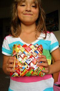 DIY Candy Wrapper Bag