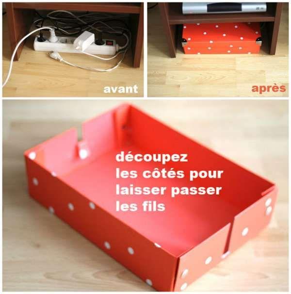 10 astuces géniales pour cacher les fils électriques qui traînent partout