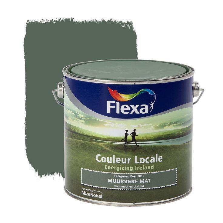 Flexa Couleur Locale muurverf Energizing Ireland mat Moss 2,5 l