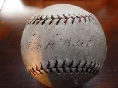 Babe Ruth Autographed Baseball -