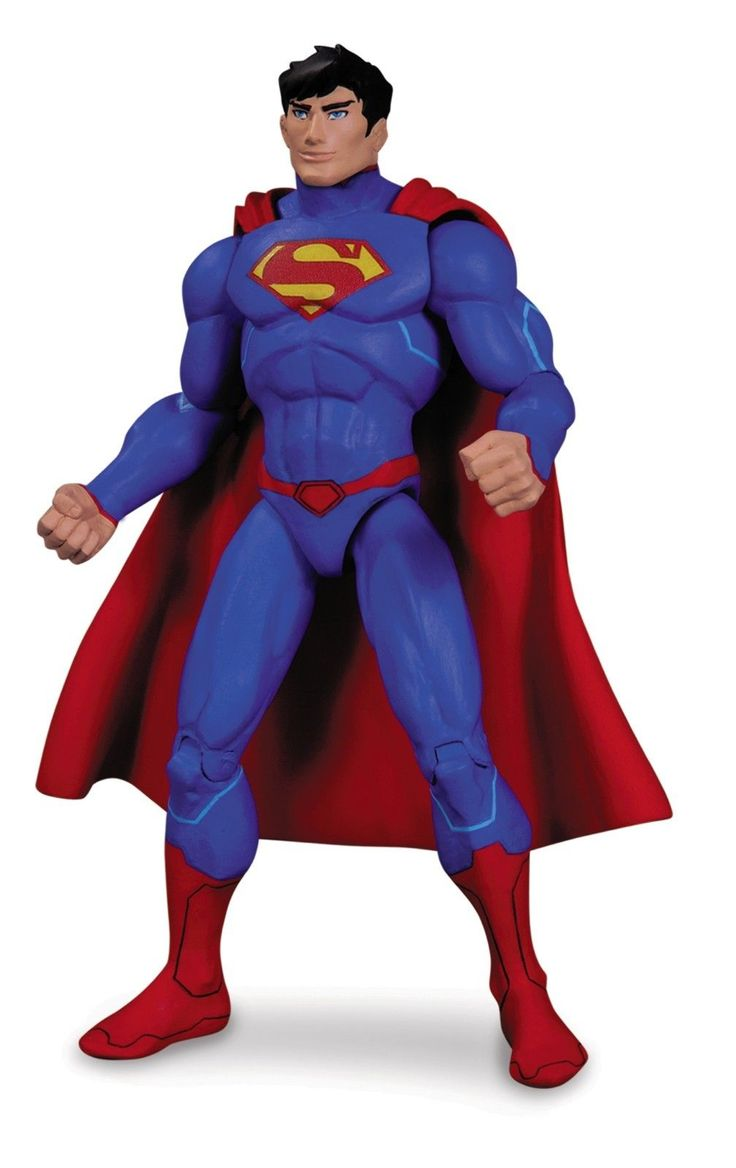 Superman Animated Movie Justice League War Action Figure DC Collectibles   eBay