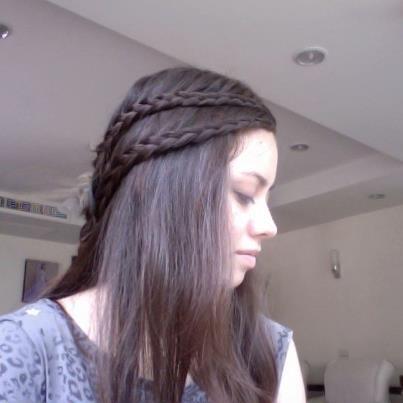 Double dutch lace braids