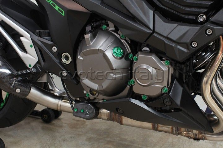 #Tappo Olio motore #Viteria in Ergal #Kawasaki Z800