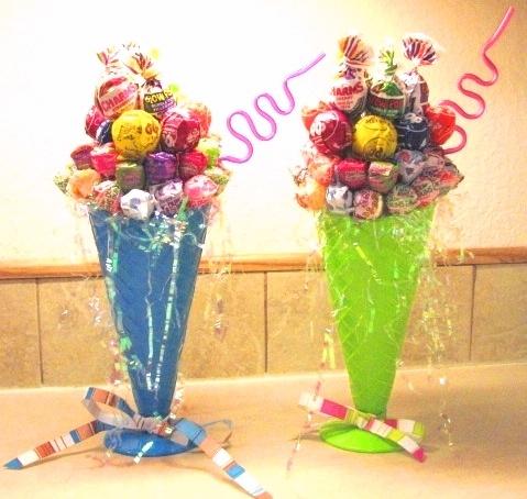 Icecream treat sucker bouquet