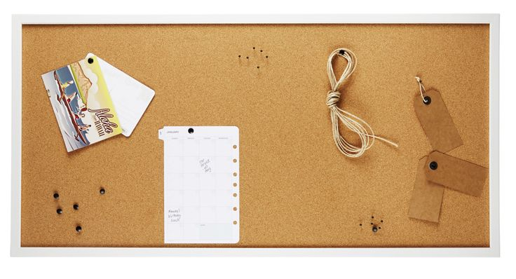 Woodern Framed Cork Board