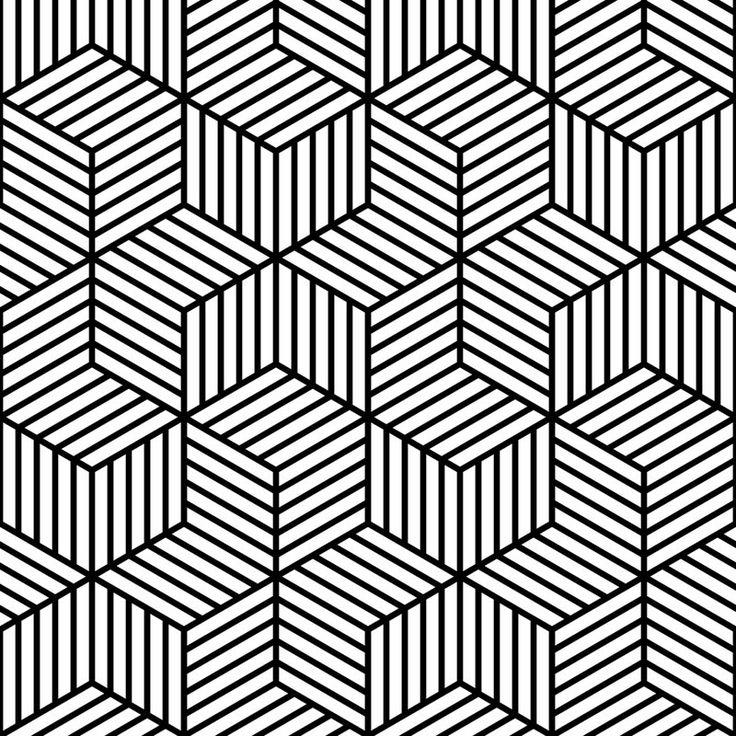 Cool Black And White Geometric Design | Joy Studio Design ...