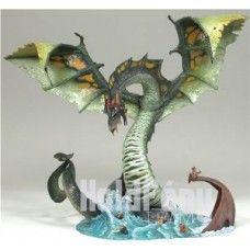 McFarlane's Dragons Water Dragon Clan figure