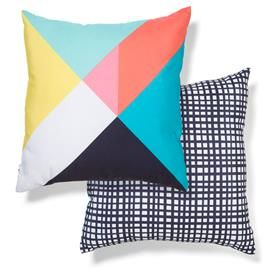 Cushions | Kmart These work well with the IKEA  art (pinky circle). Need 4. This is for the TV room