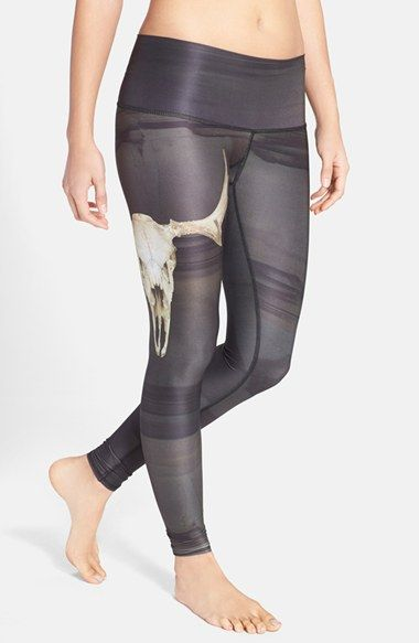 Free shipping and returns on teeki 'Deer Medicine Hot Pant' Leggings at Nordstrom.com. Dark desert streaks and an oversized skull at one thigh give a mystical out-West feel to eco-conscious yoga leggings made in part from recycled plastic bottles. An ultra-wide, elastic-free waistband and chafe-resistant flatlock seams offer a smooth, comfortable fit.