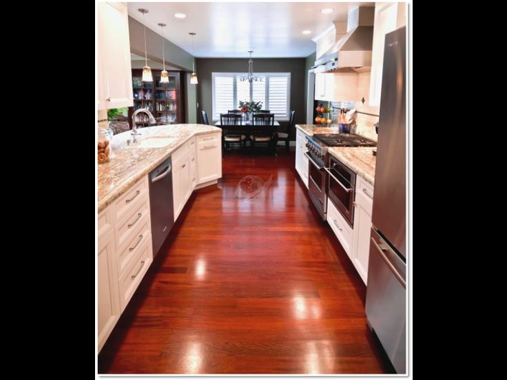 Beauty Cherry Wood Ideas For Kitchen Flooring Trends In Kitchen Flooring  Options