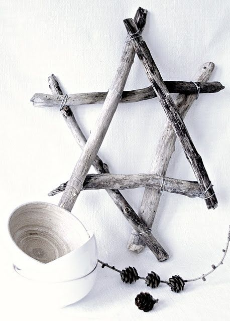 diy driftwood star
