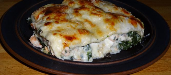 Lasagne Met Zalm En Spinazie recept | Smulweb.nl