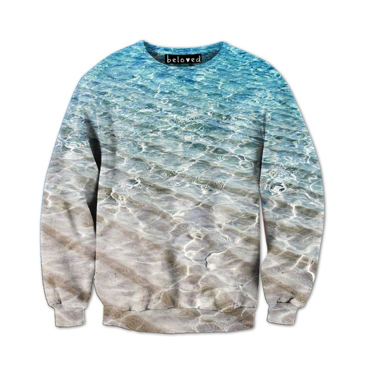 Beloved clothing: Beach Water Sweatshirt