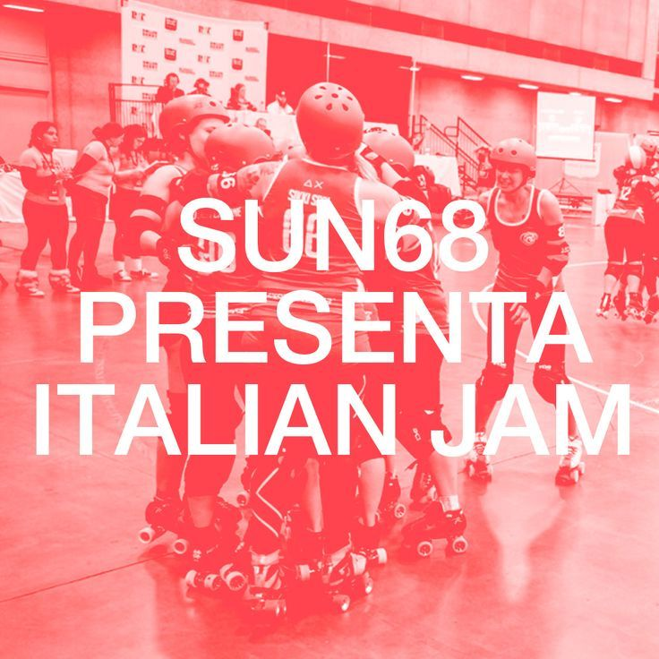 Italian Jam Première 16-09-2015 Grazie alle ragazze del Team Italy e al regista Michele Comi. #SUN68LovesRollerDerby #TeamItaly #ItalianJam #SUN68
