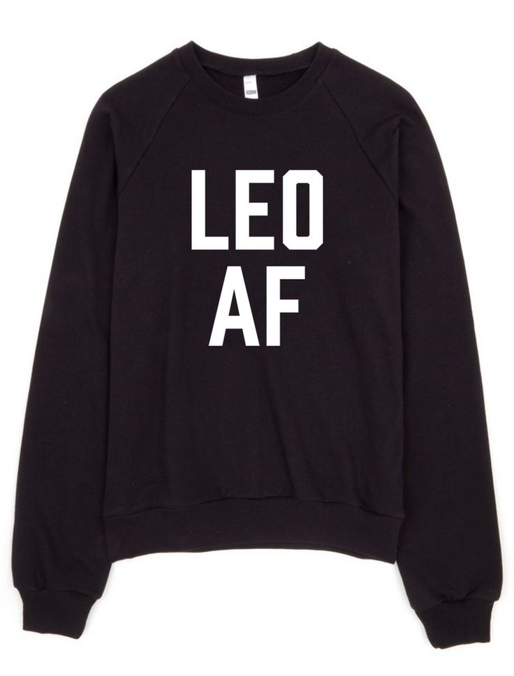 Leo AF Unisex Sweatshirt