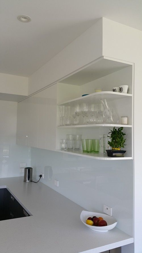 Open shelving #kitchen