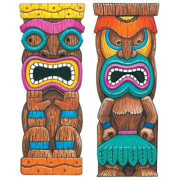 Tiki totem pole tikis pinterest tiki totem for Tiki hawaiano