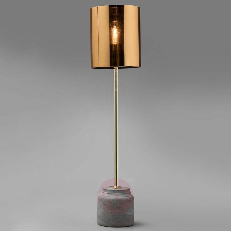 Rå flott bordlampe ~