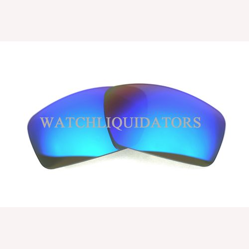 REPLACEMENT LENSES FOR NIKE GRIND SUNGLASSES DARK GREY W/ ICE BLUE MIRROR