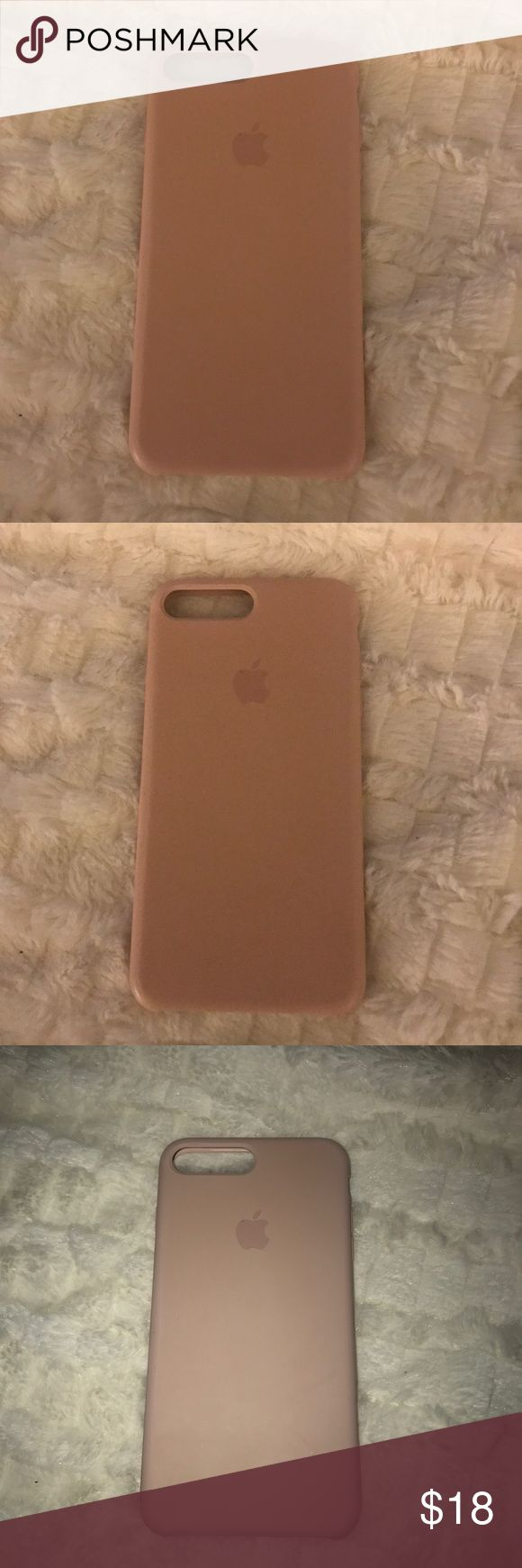 Light Pink APPLE CASE from Apple Store 7/7s PLUS Apple Accessories Phone Cases