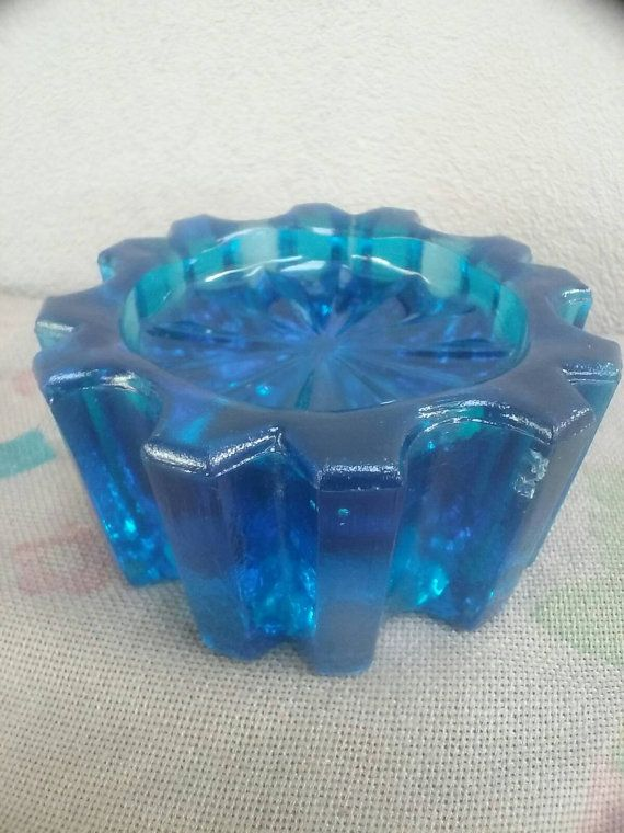 Check out this item in my Etsy shop https://www.etsy.com/au/listing/488971074/blue-glass-piano-castor-stunning