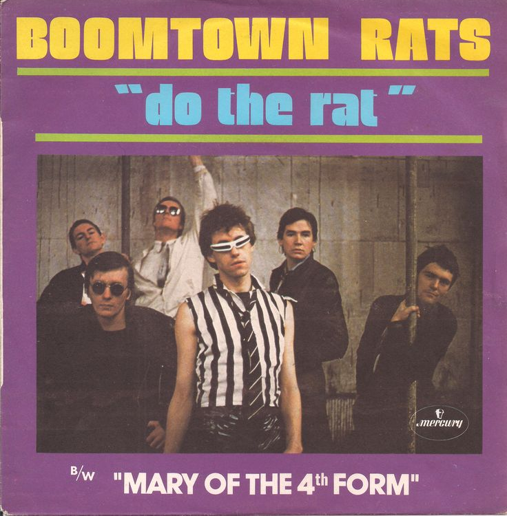 "The Boomtown Rats - Do The Rat [1978,  Mercury 6173 675 │France] - 7""/45 vinyl record"