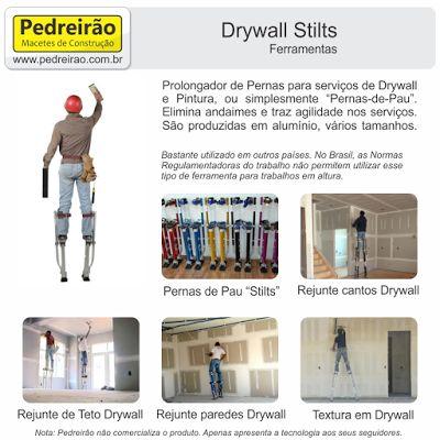 Imobiliaria Anderson Martins : Você conhece  o Drywall Stilts
