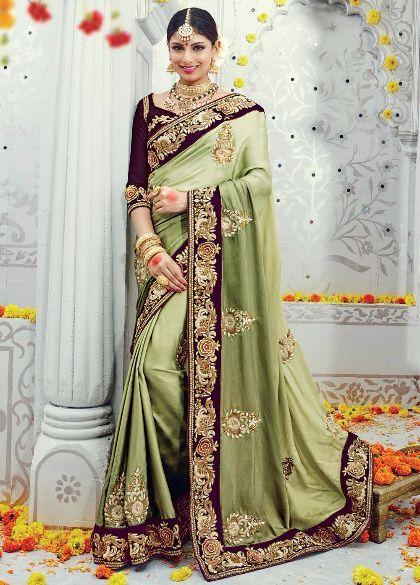 http://www.deesalley.com/Buy-online-Green-Satin-Silk-Saree-with-Velvet-Border-id-2631306.html