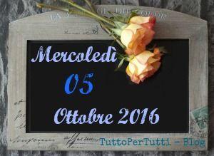 """05 OTTOBRE 2016 Mercoledì - GIORNATA MONDIALE DEGLI INSEGNANTI  LA PERLA DEL GIORNO: by Matt """"L'unica regola del viaggio è... non tornare come sei partito!""""  Compleanni, addii, storia e le notizie curiose: Almanacco completo in 1 clik sul blog ----> http://tucc-per-tucc.blogspot.it/2016/10/05-ottobre-2016-mercoledi-giornata.html"""