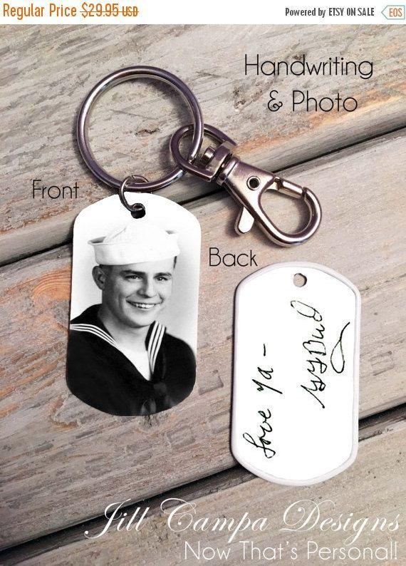 Custom Handwriting Keychain – Handwriting Keychain – Memorial Keychain – Signature Jewelry – Signature Keychain- custom photo keychain