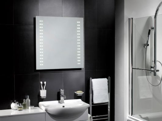 Led Bathroom Mirror Battery Powered Uk: 69 Best Images About Bathroom Mirrors On Pinterest