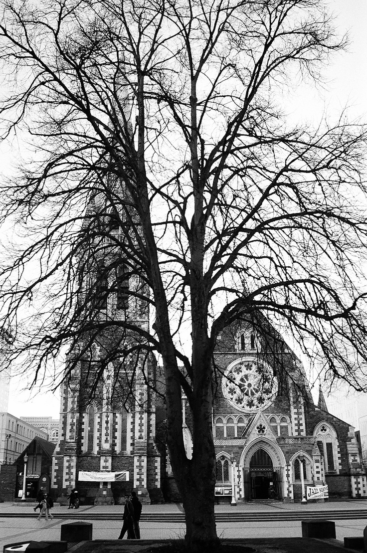 Christchurch Catherdral, before the earthquake.