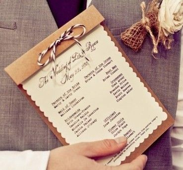 251 best Wedding invites images on Pinterest Stationery, Wedding - wedding program inclusions