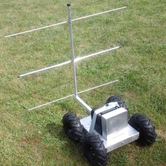 """Commercial ground penetrating radar systems cost tens of thousands of dollars. This project aims to create an open hardware alternative for about $500.  This project has three components: the Open Ground Penetrating Radar (oGPR) system, the rover and software to process the data and plot in on OpenStreetMap. This Hackaday project focuses on the first two.  The oGPR is designed to locate underground """"voids,"""" such as abandoned mines, were hazards may exist.  Before these hazards can ..."""