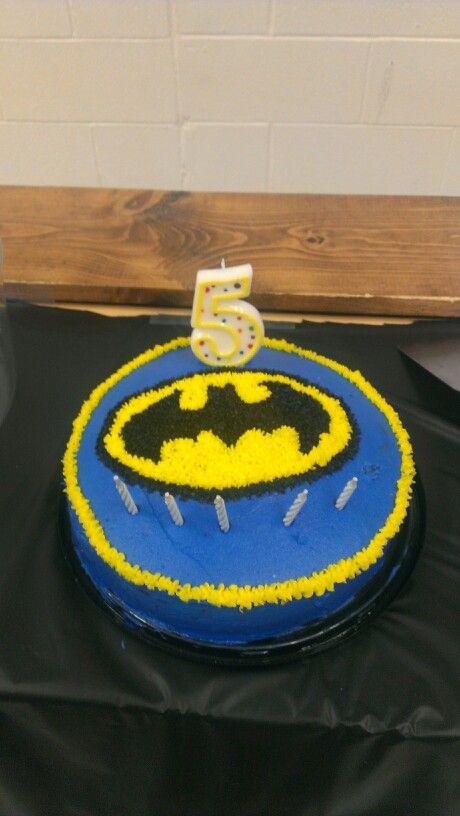Davis' Batman cake