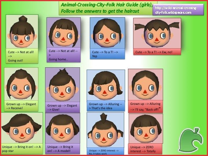 Animal Crossing City Folk Hairstyles 150266 16 Luxury Animal