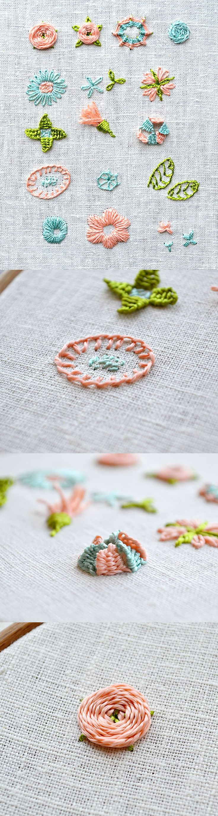 the flower embroidery days - learn to embroider flowers with picture tutorials