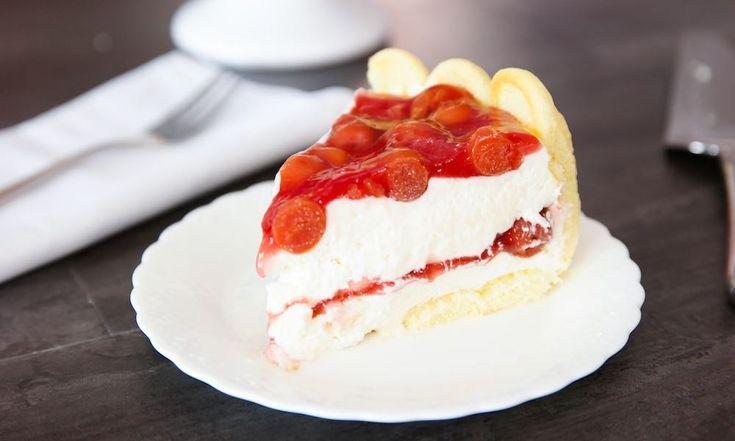 Ladyfinger Cheesecake Recipe — Dishmaps