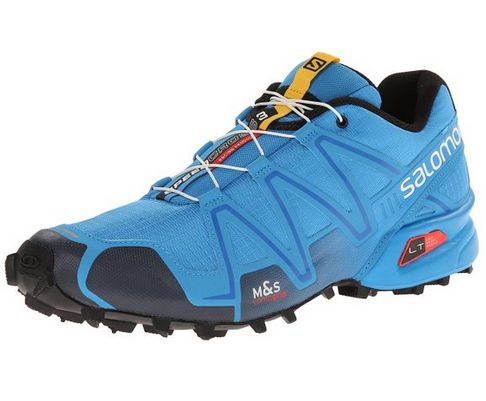 Salomon Men's Speedcross 3 Mountain Trail Shoe, Methylene Blue/Deep Blue