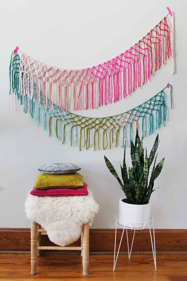 25 best easy yarn crafts ideas on pinterest yarn crafts for Easy things to build