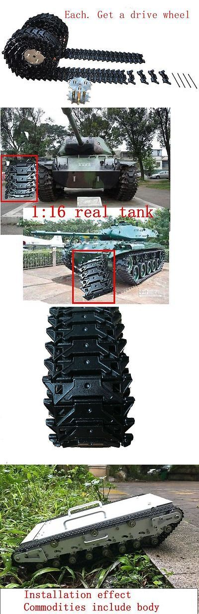 Tanks and Military Vehicles 116077: Usa Bulldog(M41a1-A3) Metal Caterpillar Tank Track Crawler Chassis Diy -> BUY IT NOW ONLY: $68 on eBay!