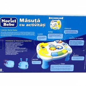 Noriel bebe Masuta activitati bebelusi Micul Artist