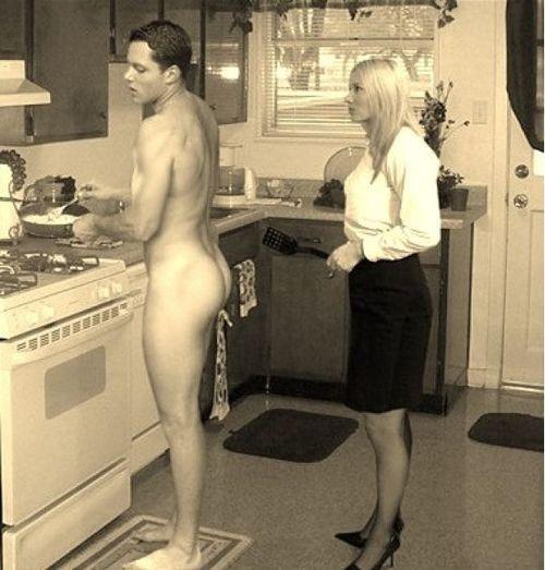Femdom cfnm in kitchen free galleries