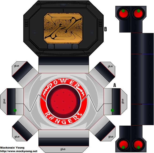 Power Rangers - Power Morpher by 80sguy.deviantart.com on @deviantART