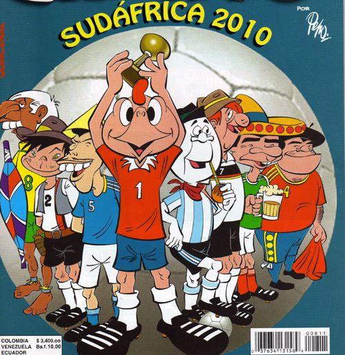 Un recuerdo de Sudáfrica 2010.