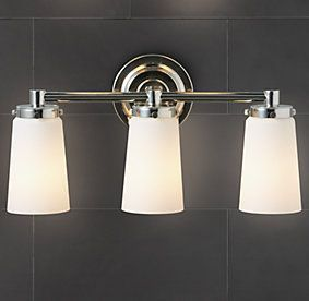 17 best images about lights on pinterest bathroom lighting light walls and satin Restoration bathroom lighting