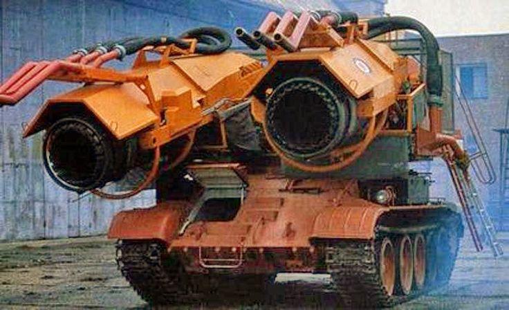 Historia del Big Wind, el increíble tanque ruso que se convirtió en un épico…