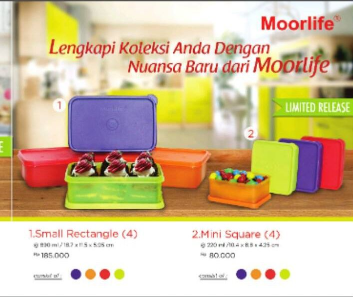 Moorlife Kombinasi Warna Baru ! Limited Series small rectangle & small square